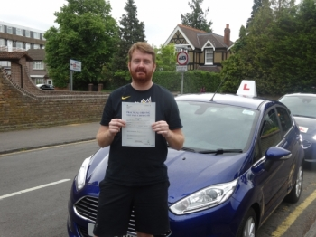 I contacted Richard after finding him online living close to Twickenham and able to accommodate me and my lessons. I am happy I did as I have successfully passed my test with him on my first attempt and now have my licence. The lessons were engaging and all concepts behind being a competent driver were described in an easy to understand format that...