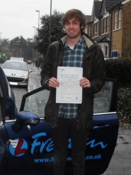 As soon as I turned 17, I was eager to get my provisional license and start lessons. From the word go i quickly found Richard to be patient and have a steady progress pace. Having started with absolutely zero experience behind the wheel, I was quickly able to drive to and from my home in Twickenham to my college in Egham, all due to Richard's great...
