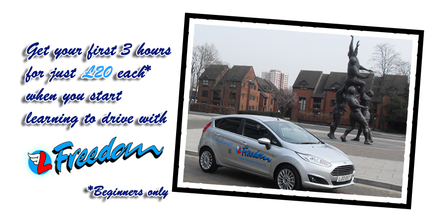 Beginner Offer! 3 Hours for £20 each! Learn to Drive now!